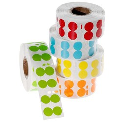 Cryogenic DYMO Compatible Labels Ø 13mm - Colors
