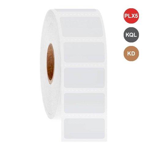 Étiquettes Cryo à jet d'encre 25,4 x 12,7mm