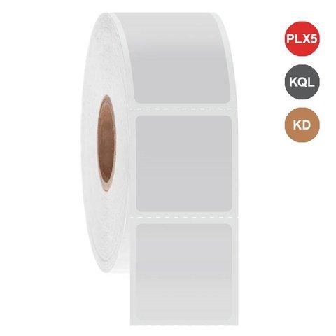 Étiquettes Cryo à jet d'encre 25,4 x 25,4mm