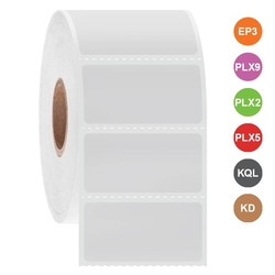 Étiquettes Cryo à jet d'encre 38,1 x 19,1mm