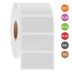 Kryo Etiketten für Tintenstrahldrucker 38,1 x 19,1mm