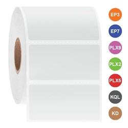 Étiquettes Cryo à jet d'encre 50,8 x 25,4mm
