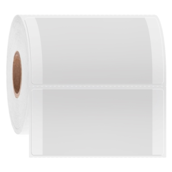 Etikettenfürgefrorene Oberflächen - 63,5 x 38,1mm