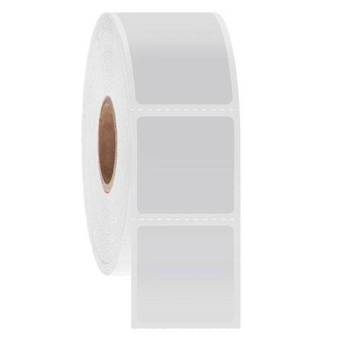 Cryo Barcode Etiketten / Direct Thermal - 25,4 x 25,4mm