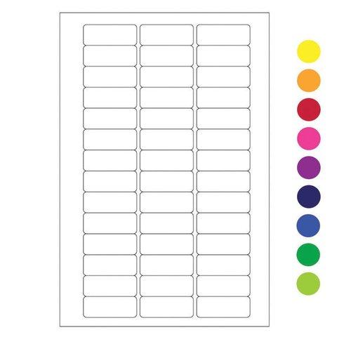 Kryo Beschreibbare Etiketten - 26 x 10mm (für Mikro-Röhrchen)
