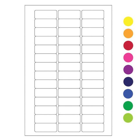 Writable Cryo Labels For Microtubes - 26x10mm