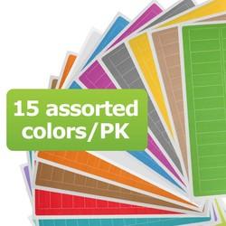 Kryo Beschreibbare Etiketten - 26 x 10mm (Für Mikro-Röhrchen) Farblich Sortiert