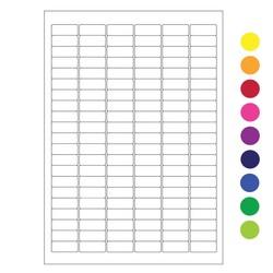 Kryo Laseretiketten Auf DIN A4-Bögen 31,5mm x 13mm