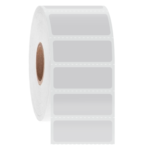 Cryogenic Barcode Labels - 34.9 x 12.7mm