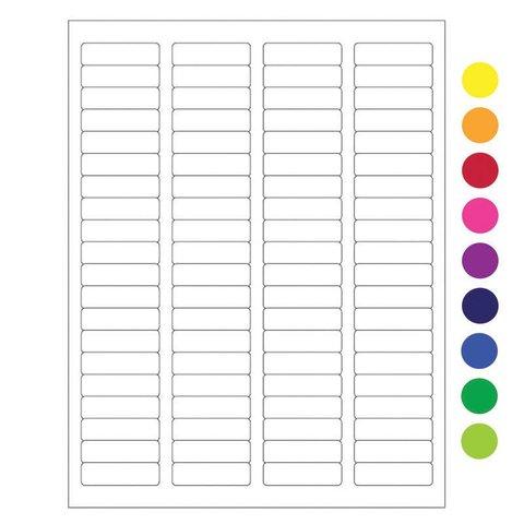 Cryo Laseretiketten - 44,5 x 12,7mm (US Letter Format)