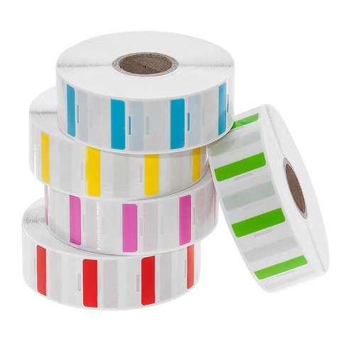 Cryo Straw Labels - 25,4 x 25,4mm  / For 0,25ml IVF Straws