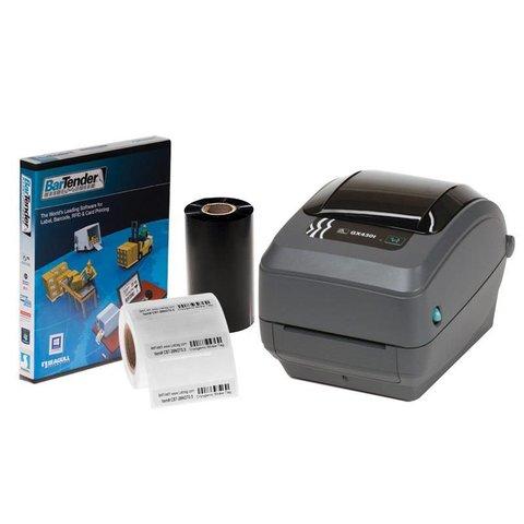 Cryo (IVF) Rietjes Identificatie Systeem - Zebra GX430T Printpakket
