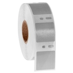 Étiquettes DYMO Cryogéniques 25,4x25,4mm - Gris