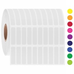 LabID™-Kryo Barcode-Etiketten 6,35mm x 25,4mm