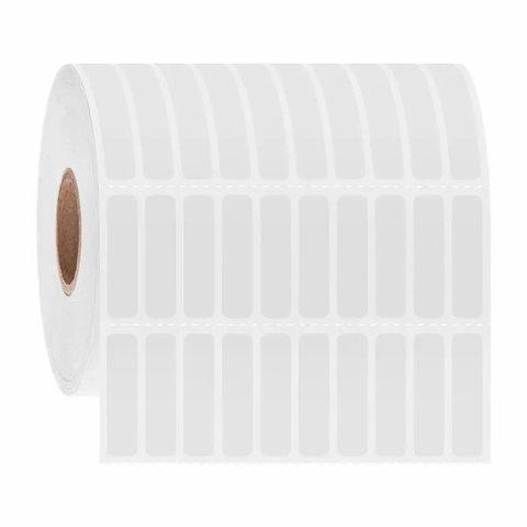 Étiquettes Cryogéniques À Code-Barres - 6,35 x 25,4mm