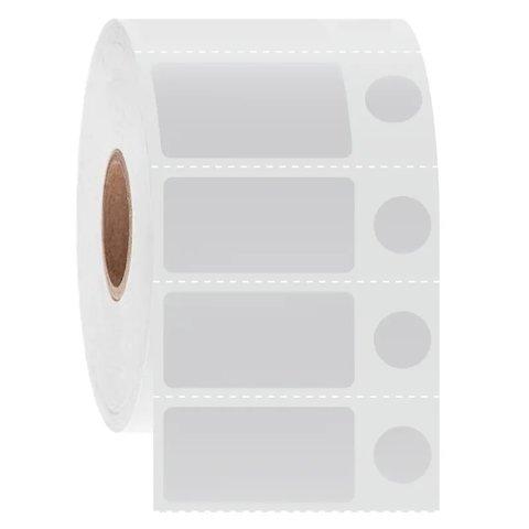 Cryo Thermal - Transfer Barcode Labels 31.8 x 16 + Ø 9.5mm