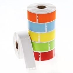 Cryo DYMO etiketten (diepvries-etiketten) 29 x 89mm - Gekleurd