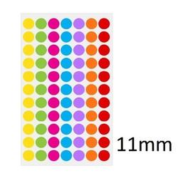 Kryo - Farbpunkte Ø11mm (Für 1,5ml Mikroröhrchen) **FarbenMix **