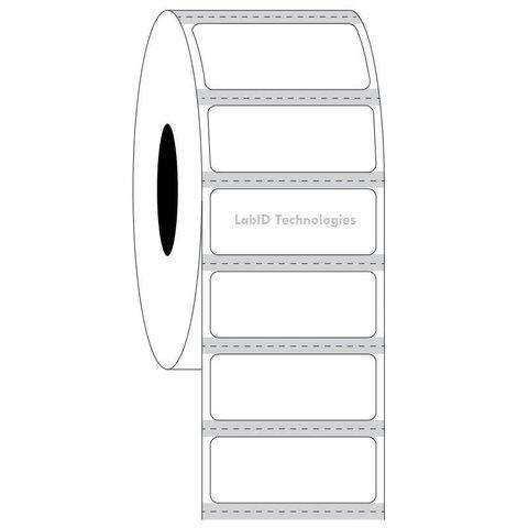 Étiquettes Cryogéniques Transparentes - 31,75 x 12,7mm