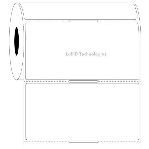 Transparante Cryo Etiketten - 101,6x50,8mm