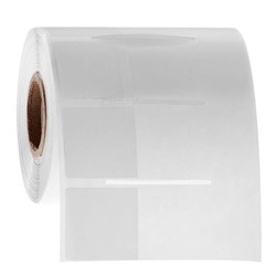 Cryogenic Wrap Around Labels 25.4 x 25.4 + 43.7mm
