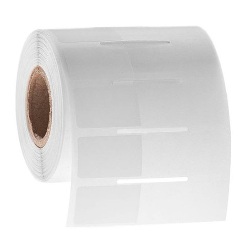 Cryogenic Wrap-Around Labels - 25.4 x 15.9 + 35mm