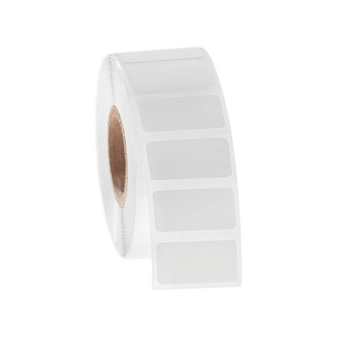 Xylol und Lösungsmittelbeständige Etiketten - 25,4 x 12,7mm