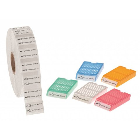 Xyleen & Oplosmiddelbestendige Etiketten 25,4 x 7mm