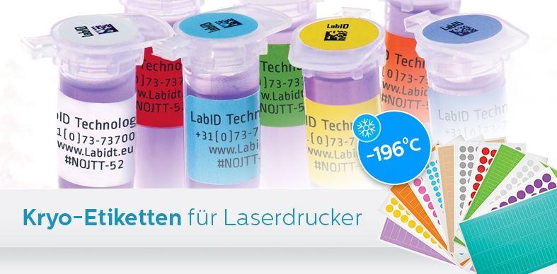 Kryo-Etiketten Für Laserdrucker