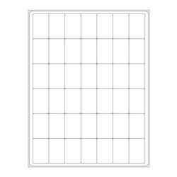 Лабид ™ - Крио Лазерные Этикетки на листах формата А4 28,6 х 44,45mm (США размер букв)