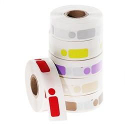 Криогенные DYMO (Димо) Этикетки - 12,7х26+Ø 9,5 мм **Цветные **