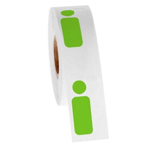 Cryo DYMO etiketten - 12,7 x 26 + Ø 9,5mm (diepvries-etiketten)