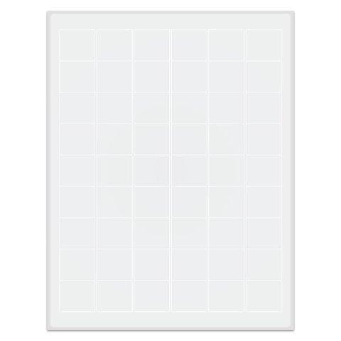 Étiquettes Cryogéniques - 32 x 27,9mm Pour Imprimantes Laser (Format US Letter)