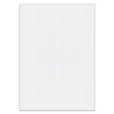 Étiquettes Cryogéniques - 31,5 x 13mm Pour Imprimantes Laser (Amovible)