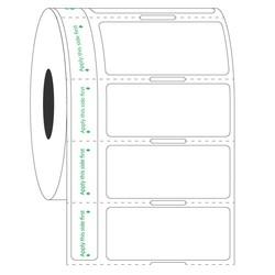 Этикетки для замороженных подложках - 44,5 х 19,05mm