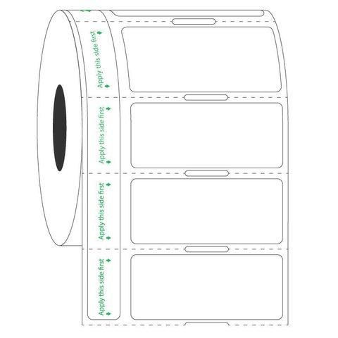 Transparante Labels Voor Bevroren Ondergronden - 44,5 x 19,05mm