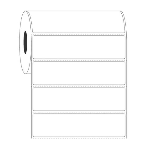 Cryo Barcode Etiketten - 101,6 x 25,4mm