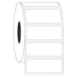 Kryo-Etiketten Für Metall-Gestelle - 41,27x15,87mm