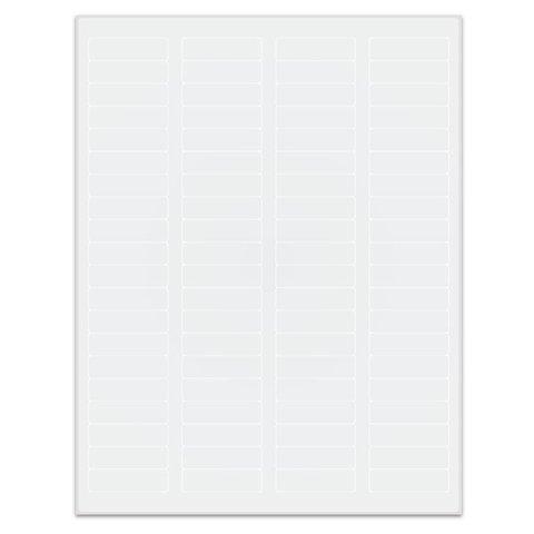 Autoclaaf Labels Voor Laserprinters - 44,5 x 12,7mm / Afneembaar