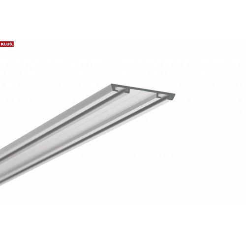 KLUŚ Design Bevestigingsprofiel 2 meter voor STOS Alu en GIP