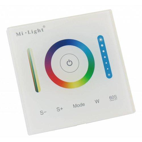 Milight / MiBoxer Wandpaneel voor RGB en RGBW LED Strips