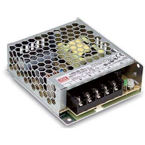 Mean Well LEDStrip Voedingsadapter 12 Volt 4.2 Ampere Transformator