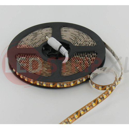 LEDStrip Warm Wit 2,5 Meter 120 LED per meter 12 Volt - Basic
