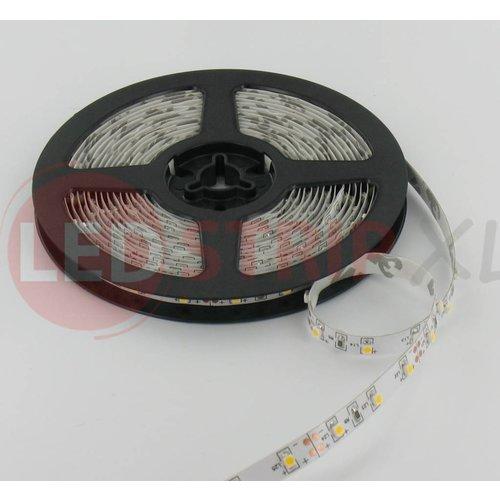 LEDStrip Warm Wit 5 Meter 60 LED per meter 24 Volt - Basic
