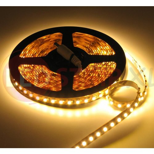 LEDStrip Warm Wit 5 Meter 120 LED per meter 12 Volt - Basic