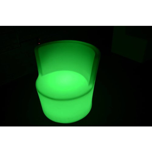 LED Stoel RGB met rugleuning
