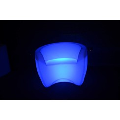 Lichtgevende LED Armstoel / Fauteuil