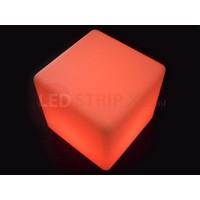 LED Kubus 60CM oplaadbaar met RGB Kleuren en IR Afstandsbediening