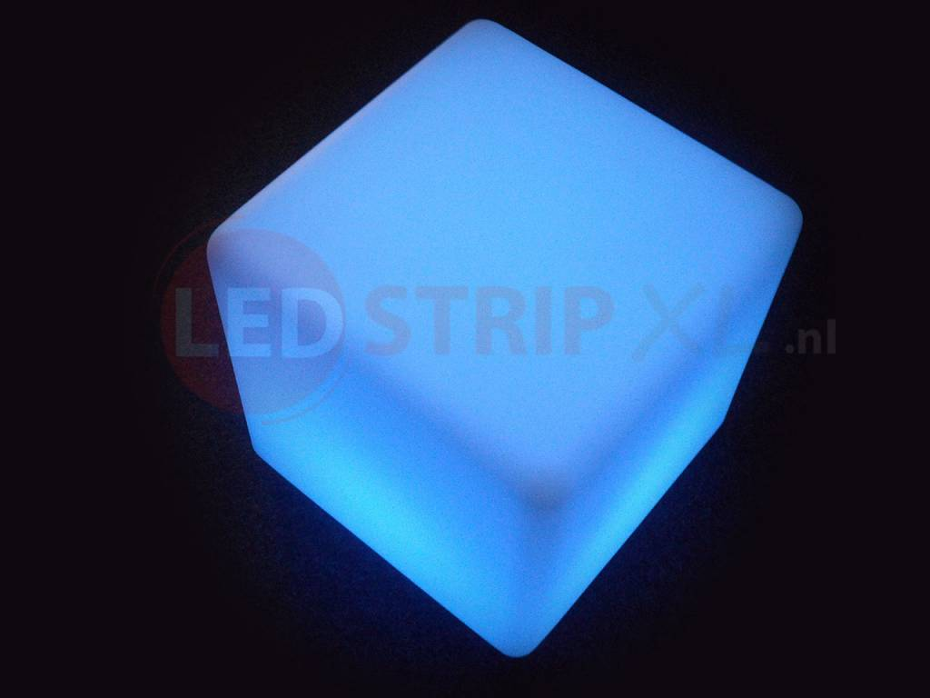 Verbazingwekkend LED Kubus oplaadbaar 60cm met RGB Kleuren en Afstandsbediening AG-04