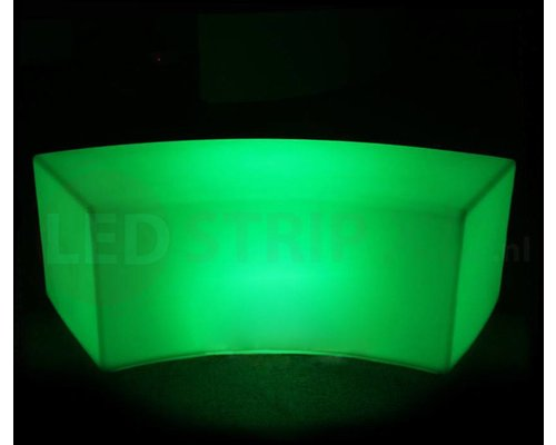 LED Bank 120CM Rond